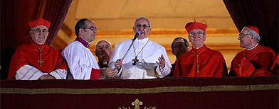 The new pontiff faces old challenges