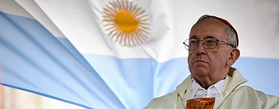 Pope has 'hard line on Falkland Islands'