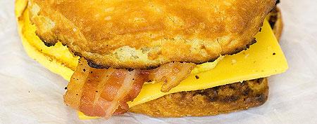 Streamline breakfast sandwiches with machine