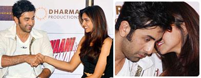 Spotted: Ranbir, Deepika sharing secrets