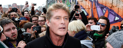 How Hasselhoff 'united' Germany
