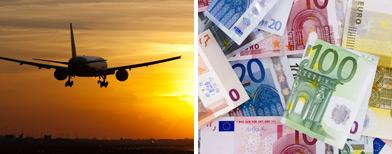 Plane full of euros flown to Cyprus