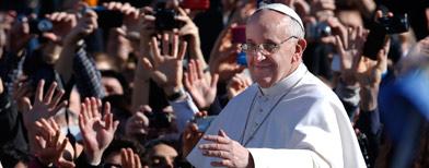 Pope Francis already making his mark