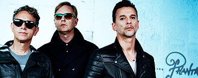 Exclusive Depeche Mode performance