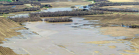 'Moderate to major' spring floods in Manitoba?