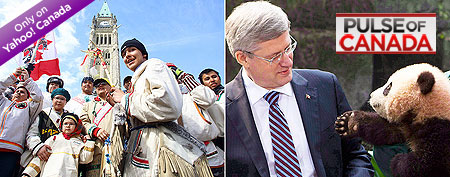 Did Stephen Harper slight the Cree walkers?