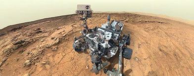 Photos: Curiosity rover explores Mars