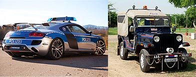 Photos: Interesting Police cars in the world