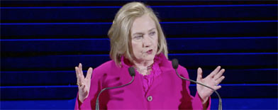 Hillary slams India's 'culture of rape'
