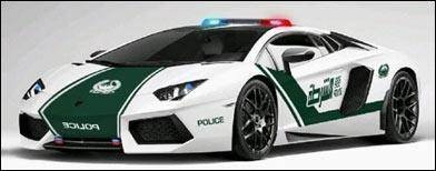 Dubai police get a Lamborghini Aventador!