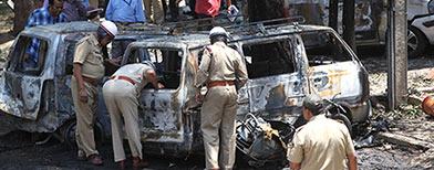 Bangalore blast injures 16, probe ordered