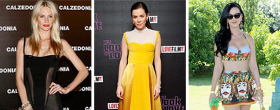 Celebrity fashion showdown