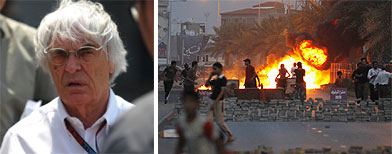 Ecclestone: Bahrain 'stupid' to hold F1 race