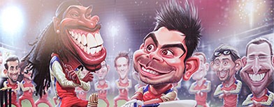 IPL 6: Offbeat moments