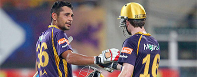 IPL: Knight Riders vs Punjab