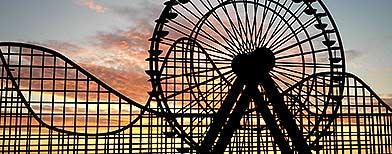 A rollercoaster (Fotolia)