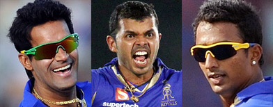 Sreesanth, Chandila, Chavan arrested