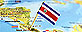 2010-11-03 ZOETERMEER - **ILLUSTRATION** The National flag of Costa Rica, in the capital San Jose, Central America.
