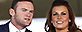 Wayne and Coleen Rooney (PA)