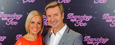 Torvill and Dean on Dancing on Ice (PA)