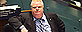 Toronto Mayor Rob Ford listens as people speak on a casino proposal at a city council meeting at Toronto City Hall on Tuesday May 21, 2013. Ford ignored a crush of reporters waiting outside his city hall office this morning in the hopes he would address allegations that he was recorded on video appearing to smoke crack cocaine. THE CANADIAN PRESS/Nathan Denette