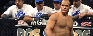Overtraining could have killed UFC superstar Junior dos Santos. (David Becker/AP)