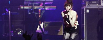 Canadian singer Carly Rae Jepsen performs during the Singapore Social Concert at the Gardens By the Bay, May 24, 2013. REUTERS/Edgar Su (SINGAPORE - Tags: ENTERTAINMENT)