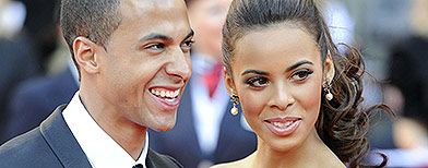 Marvin and Rochelle at a red carpet event (PA)