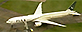 Pakistan International Airlines plane isolated at Stansted (Sky News)