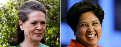 Sonia, Indra among most powerful women