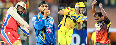 Top performers in tainted IPL