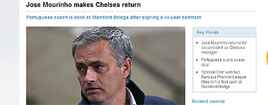 Blundering PL 'announces' Mourinho return