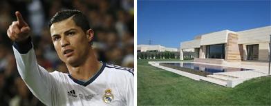 Ronaldo's pad on sale as exit rumours build