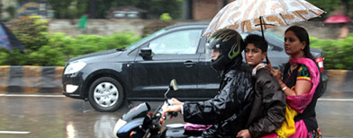 Photos: Heavy rains hit life in Mumbai