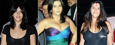 Should Ekta be wearing such clothes?