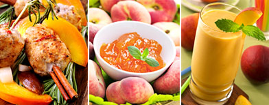 Top 5 ways to use peaches