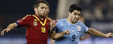 Spain v Uruguay - Confederations Cup live!