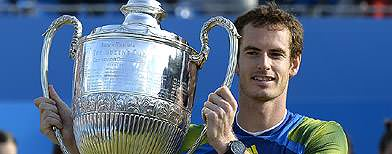 Andy Murray wins third Queen's title