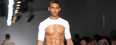 If your abs look like this guy's, wear this.