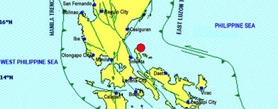 An earthquake strikes Quezon province, with shocks felt in Metro Manila and other parts of Luzon.