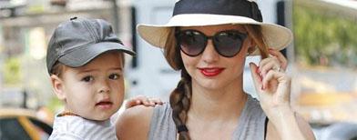 Celebrity parents make time for kids