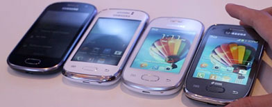 'Galaxy' of budget phones introduced