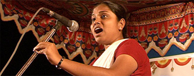 Sheetal Sathe sings of the dark times