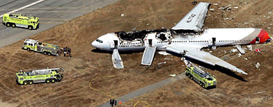 Photos: San Francisco plane crash