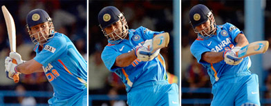 6-4-6 Dhoni finishes in style