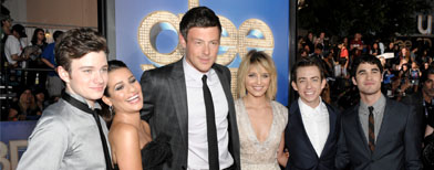 'Glee' stars 'heartbroken' by Cory's death