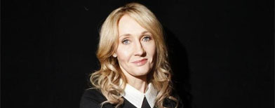 """I had hoped to keep this secret a little longer,"" J.K. Rowling says, after a newspaper blew her cover."