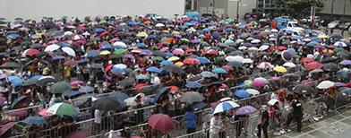 Rains won't dampen spirit of LeBron fans