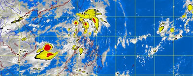 'Isang' now a storm; signals still up