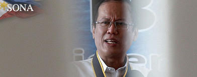 Who was Aquino really talking to in SONA?